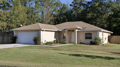 Ocala Single Family Home For Sale: 15 Pecan Run Way