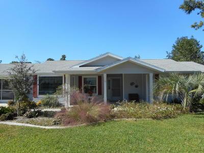 Ocala Single Family Home For Sale: 10808 SW 83rd Avenue