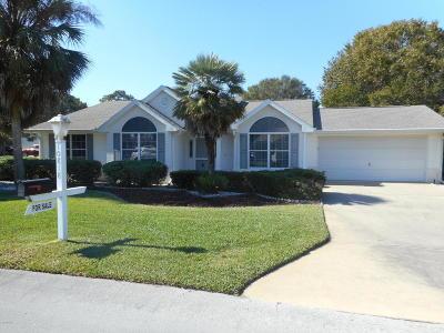 Ocala Single Family Home For Sale: 10818 SW 84th Terrace
