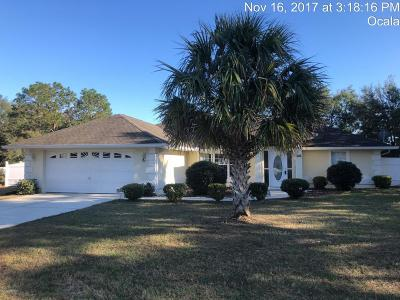 Marion County Single Family Home For Sale: 5491 SW 100th Loop