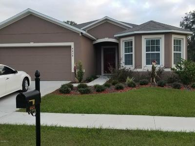 Ocala Single Family Home For Sale: 4434 NE 29th Street