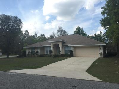 Marion County Rental For Rent: 6947 SW 132nd Street