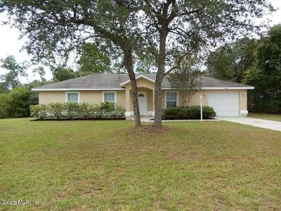 Marion County Rental For Rent: 17171 SW 41st Circle