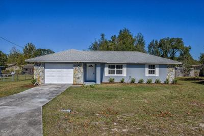 Ocala Single Family Home For Sale: 25 Teak Run