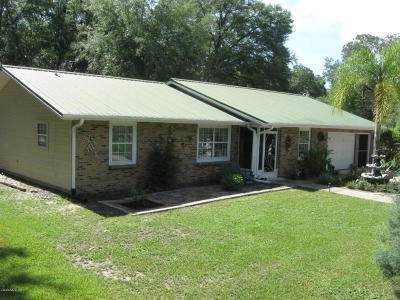 Marion County Single Family Home For Sale: 1201 NE 145th Avenue Road