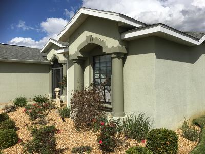 Ocala FL Single Family Home For Sale: $220,000
