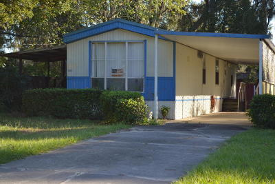 Mobile/Manufactured For Sale: 10140 SE 169th Lane