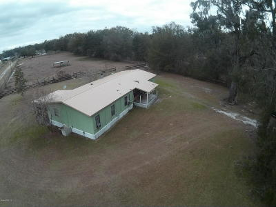 Reddick Single Family Home For Sale: 3005 W Hwy 329