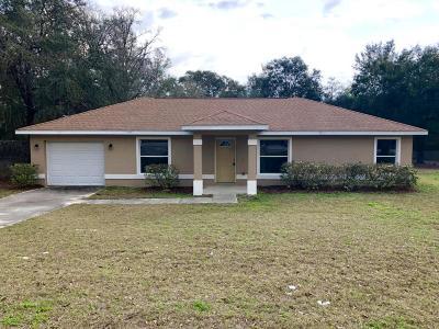 Belleview Single Family Home Pending: 13285 SE 100th Avenue