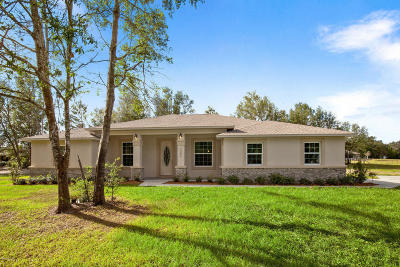 Marion County Single Family Home For Sale: 11547 SE Sunset Harbor Road