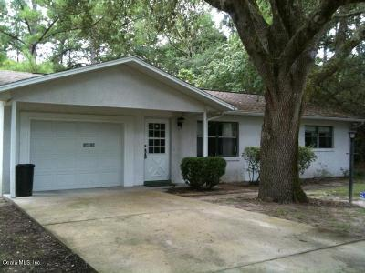 Dunnellon Single Family Home For Sale: 19854 SW Nightingale Dr