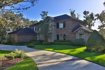 Ocala FL Single Family Home For Sale: $1,595,000