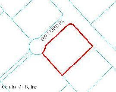 Ocala Residential Lots & Land For Sale: SW 173 Place