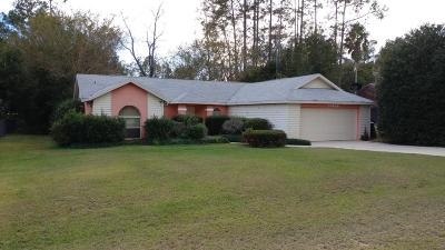 Dunnellon Single Family Home For Sale: 21486 SW Peach Blossom Street