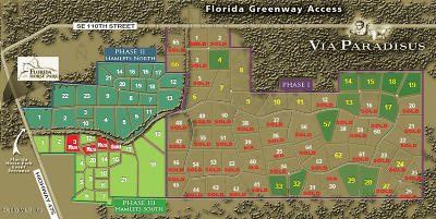 Via Paradisus Residential Lots & Land For Sale: SE 116th Pl Road