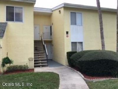 Ocala Condo/Townhouse For Sale: 543 Fairways Drive #A