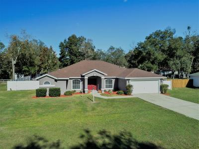 Ocala Single Family Home For Sale: 6001 SW 111th Pl Road