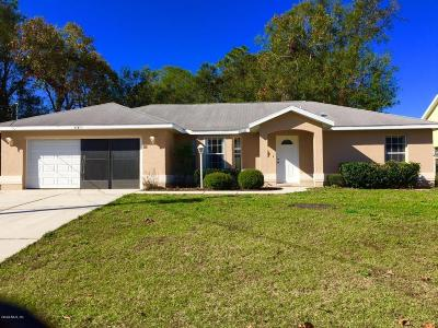 Summerfield Single Family Home For Sale: 15640 SE 89th Terrace