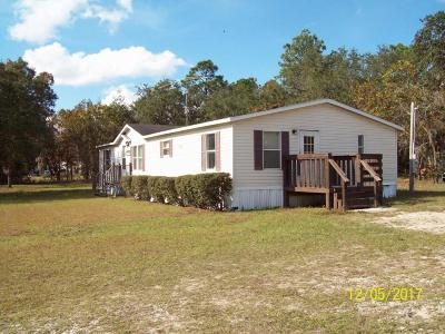 Ocala Mobile/Manufactured For Sale: 16851 SW 39th Place