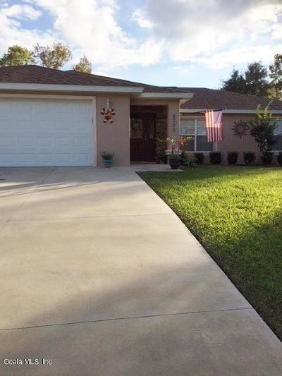 Summerfield Single Family Home For Sale: 8390 SE 160th Place