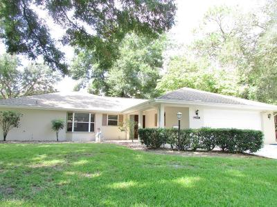 Dunnellon Single Family Home For Sale: 19328 SW 93rd Lane Road