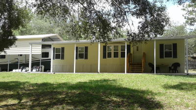 Dunnellon Single Family Home For Sale: 17900 SW 43rd Place