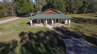 Summerfield Single Family Home For Sale: 10179 SE 138th Pl Road