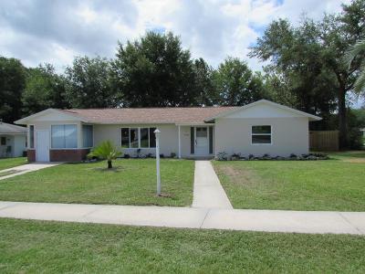 Citrus Springs Single Family Home For Sale: 9208 N Elliot Way