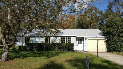 Ocala Single Family Home For Sale: 55 Pine Radial