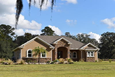 Marion County Single Family Home For Sale: 18155 NW 150th Avenue