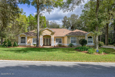 Ocala Single Family Home For Sale: 4585 SE 48 Place Road