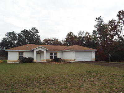 Ocala Single Family Home For Sale: 13303 SW 38th Court