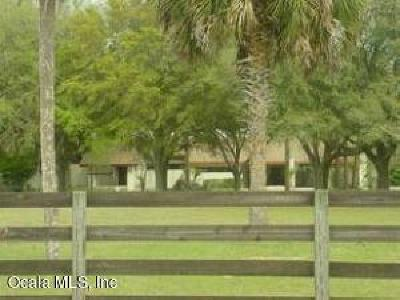 Ocala Farm For Sale: 7055 SW 70 Ave