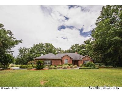 Marion County Single Family Home For Sale: 808 SE 69th Place