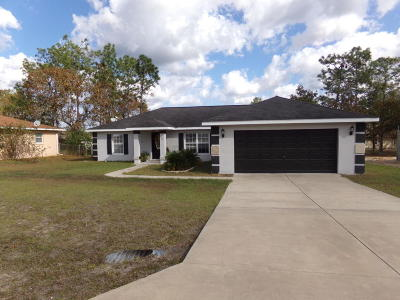 Ocala Single Family Home For Sale: 5 Pecan Pass Trail