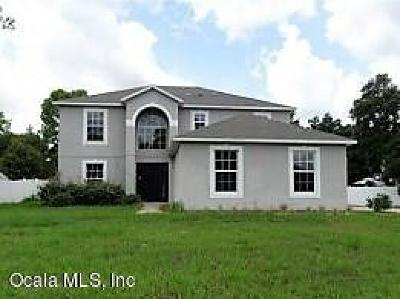 Ocala Single Family Home For Sale: 5204 SW 115th St Road