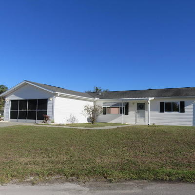 Ocala Single Family Home For Sale: 11246 SW 63rd Terr. Road