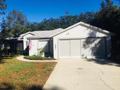 Dunnellon Single Family Home For Sale: 10051 SW 188th Court
