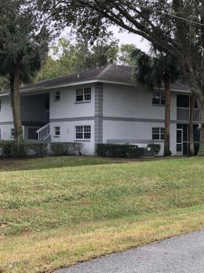 Ocala FL Condo/Townhouse For Sale: $54,500