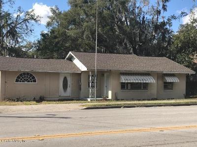 Ocala Single Family Home For Sale: 428 NE 8th Avenue