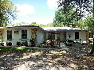 Dunnellon Single Family Home For Sale: 12025 SW 103rd Lane