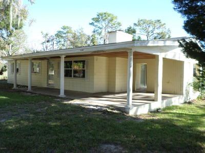 Belleview Single Family Home For Sale: 12107 SE 89th Terrace