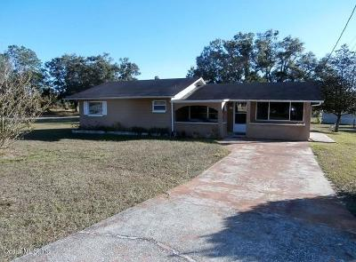 Dunnellon Single Family Home For Sale: 22688 SW Rainbow Lakes Boulevard