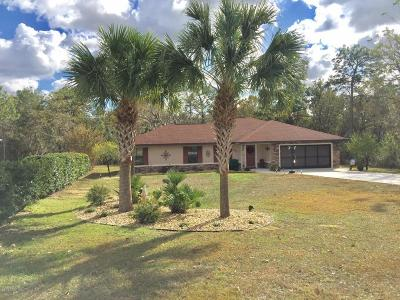 Ocala Single Family Home For Sale: 11312 SW 58th Circle