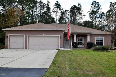 Dunnellon Single Family Home For Sale: 20060 SW 59th Lane