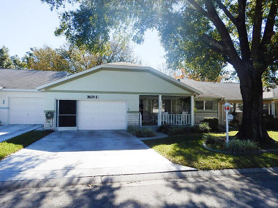 Ocala Single Family Home For Sale: 8630 SW 94th Lane #D