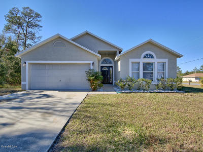 Ocala Single Family Home For Sale: 13374 SW 31st Terrace Road