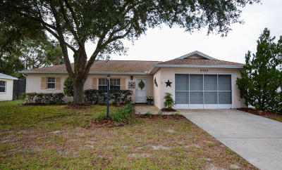 Ocala Single Family Home For Sale: 9768 SW 99th Avenue