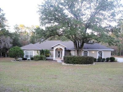 Dunnellon Single Family Home For Sale: 21503 SW 84th Loop