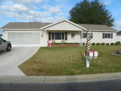 Dunnellon Single Family Home For Sale: 11715 SW 139th Street